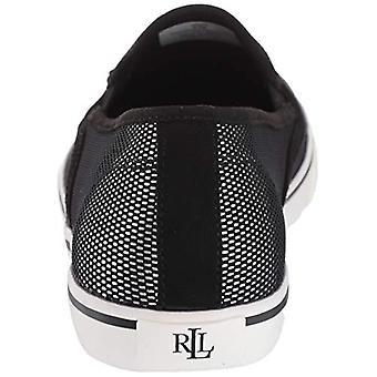 Ralph Lauren Womens Janis Stoff niedrig Top Slip-On Fashion Sneaker