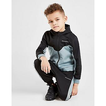 New McKenzie Boys' Mini Bixente Full Zip Tracksuit Black
