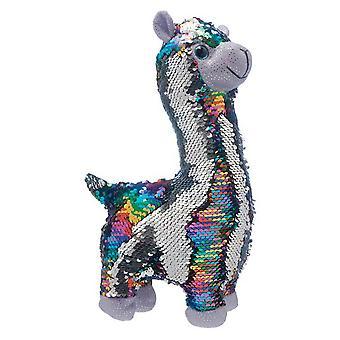 Christmas Shop 33cm vändbar Palin Llama plysch leksak