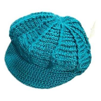 Tayberry vermont peaked knitted hat