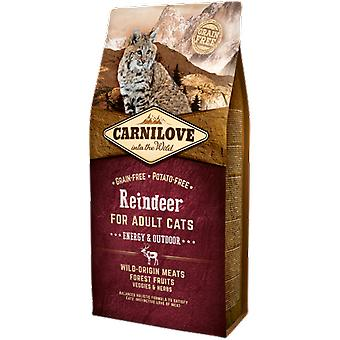 Carnilove Energy & Outdoor Cats Reindeer (Cats , Cat Food , Dry Food)