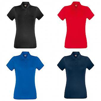 Fruit Of The Loom Womens/Ladies Short Sleeve Moisture Wicking Performance Polo Shirt