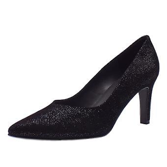 Peter Kaiser Elfi Classic Court Shoes In Black Asterisk