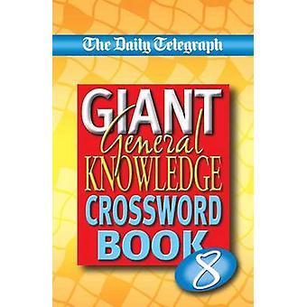 Sunday Telegraph boek van algemene kennis Crosswords 6 door Telegraph Group Limited