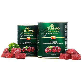 Nuevo Lata Adult Ternera (Dogs , Dog Food , Wet Food)