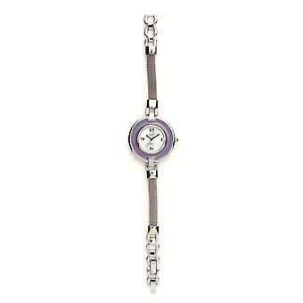 Eton Slim slim Mesh Bracelet Watch, Silver Dial- 3108L-LC