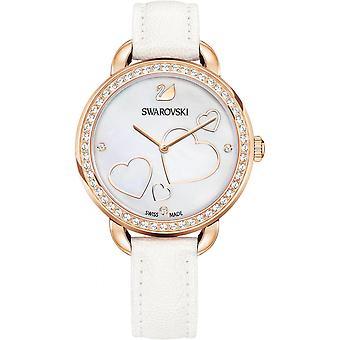 -Se Swarovski Aila dag 5242514 hvitt skinn C? urs kvinne