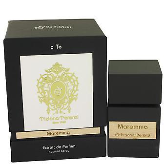Tiziana terenzi maremma extrait de parfum spray (unisex) door tiziana terenzi 535625 100 ml