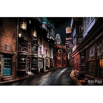 Pôster de Harry Potter Diagon Alley Maxi