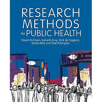 Research Methods for Public Health by Stuart McClean - 9781526430014