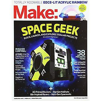 Make - Volume 69 by Mike Sense - 9781680455830 Book