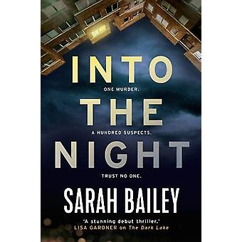 Into the Night by Sarah Bailey - 9781786494894 Book