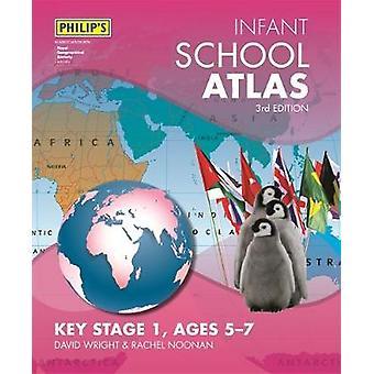 Philip's Infant School Atlas - Voor 5-7 jarigen door David Wright - 978