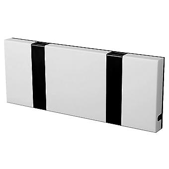 LoCa Wardrobe Knax 2 white (hook foldable black)