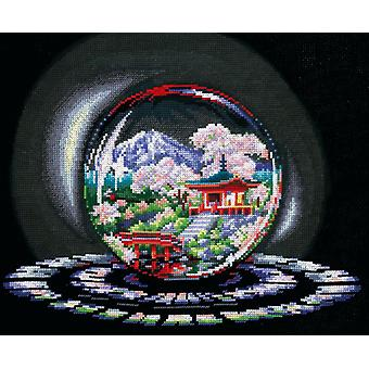 Andriana Cross Stitch Kit -  Spheres of Desire - Spring Caprice