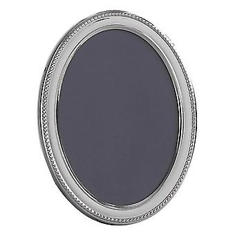 Orton West Oval Photo Frame 3.5x5 - Silver