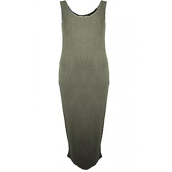 A Postcard from Brighton Nancy Khaki Midi Dress