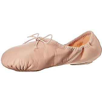 Bloch Womens Neo-Hybrid Closed Toe Ankle Strap Ballet Flats
