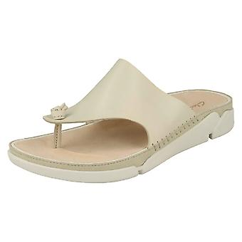 Ladies Trigenic By Clarks Toe Post Sandals Tri Toe Post