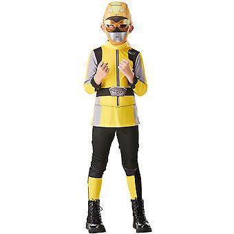 Yellow Ranger Boys Kostuum - Power Rangers