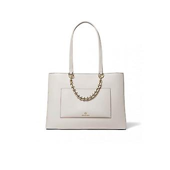 MICHAEL KORS CECE BEIGE SHOPPING BAG