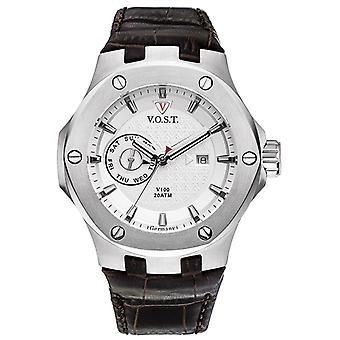 V.O.S.T. Germany V100.006 Steel Multifunction Men's Watch 44mm