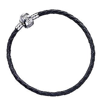 Harry Potter Black Leather Slider Charm Bracelet