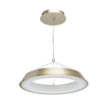 Techno Golden Pendant Lamp Diameter 60 Cm