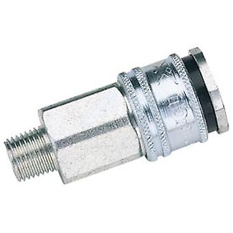 Draper 54406 Bulk Euro Coupling Male Thread 1/2 BSP Parallel (Sold Loose)
