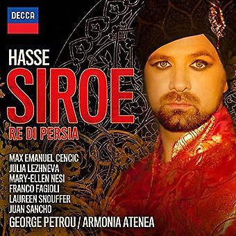 Max Emmanuel Cencic - Hasse: Siroe [CD] USA import