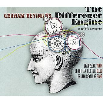 Graham Reynolds - Difference Engine: A Triple Concerto [CD] USA import