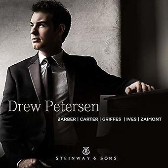 Ives / Petersen - Drew Petersen Play Barber [CD] USA import
