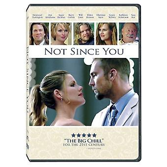 Not Since You [DVD] USA import