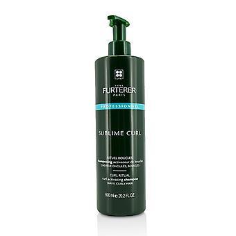 Rene Furterer Sublime curl curl activeren shampoo-golvend, krullend haar (Salon product) 600ml/20.29 Oz