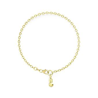 Miffy 18ct Gold Plated Vermeil Single Charm Bracelet