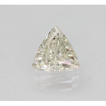 Sertifioitu 0,71 karaatin H VS2 kolmio parannettu luonnollinen loose diamond 6.29x5.92mm