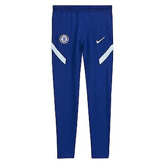 2020-2021 Chelsea Nike Strike Koulutus Housut (Sininen)