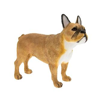 Tan French Bulldog Figurine