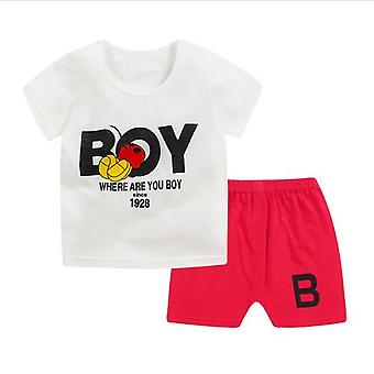 Where Are You Baby Boys T Shirt And Shorts