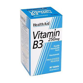 فيتامين B3 (نياكيناميدي) 90 حبة