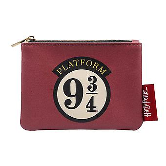 Harry Potter Purse Platform 9 3/4 Hogwarts Express Logo new Official Red