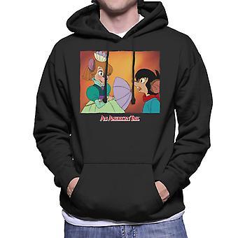 An American Tail Bridget Blushing Men's Hooded Sweatshirt