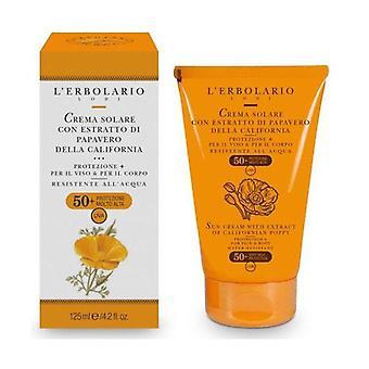 Sunscreen with California Poppy Extract 125 ml