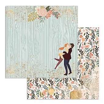 Stamperia Love Story Lovers 12x12 Inch Paper Sheets (10pcs) (SBB726)