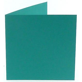 Papicolor Turquoise Square Double Cards