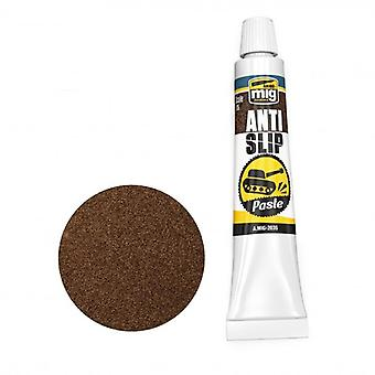 Mig Ammo Anti-Slip Paste - Brown Color For 1/35