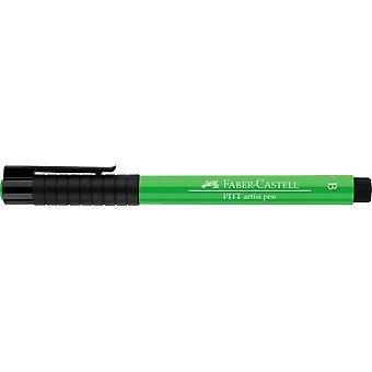 فابر كاستيل الحبر الهندي الفنان القلم فرشاة 112 ورقة الأخضر