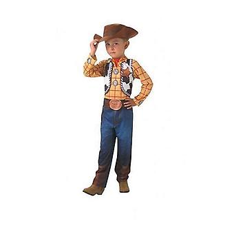 Traje para niños Woody Toy Story Rubies (Tamaño 5-7 años)