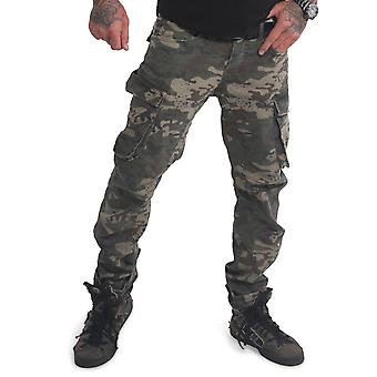 YAKUZA Men's Cargo Pants Old Firm