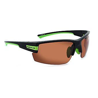 Maxxum - golf - twin smoke & copper lens rimless sunglasses